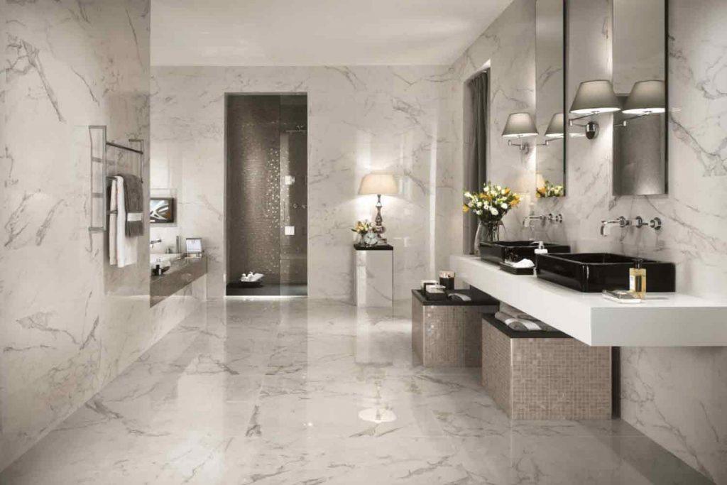 Stone Shower Restoration